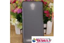 Фирменная ультра-тонкая полимерная из мягкого качественного силикона задняя панель-чехол-накладка для Doogee X7 Pro серая