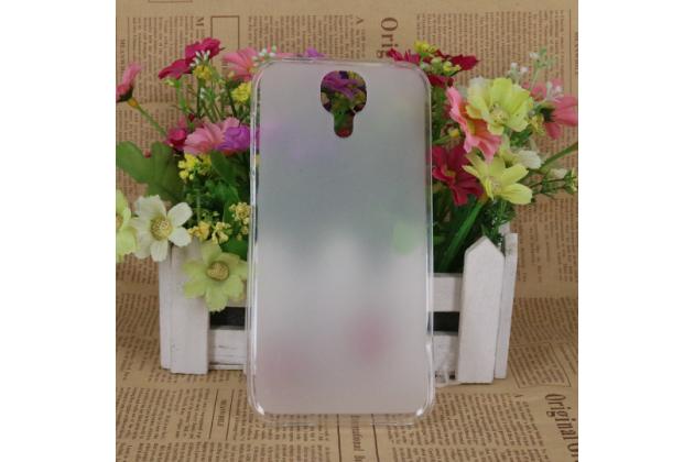 Фирменная ультра-тонкая полимерная из мягкого качественного силикона задняя панель-чехол-накладка для Doogee X9 Pro прозрачная