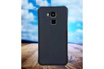 Фирменная необычная из силикона задняя панель-чехол-накладка для DOOGEE Y6 черная