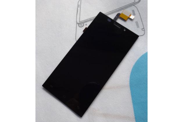 Фирменный LCD-ЖК-сенсорный дисплей-экран-стекло с тачскрином на телефон DOOGEE Turbo Mini F1 черный
