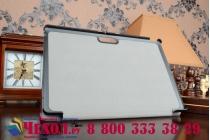 """Фирменный умный чехол-книжка самый тонкий в мире для Dell Venue 10 Pro (5000/5055/7000) """"Il Sottile"""" фиолетовый кожаный"""