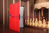 """Фирменный умный чехол самый тонкий в мире для Dell Venue 11 Pro """"Il Sottile красный пластиковый Италия"""