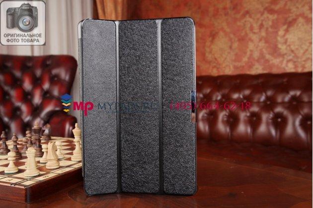 """Фирменный умный чехол самый тонкий в мире для Dell Venue 11 Pro """"Il Sottile черный пластиковый Италия"""