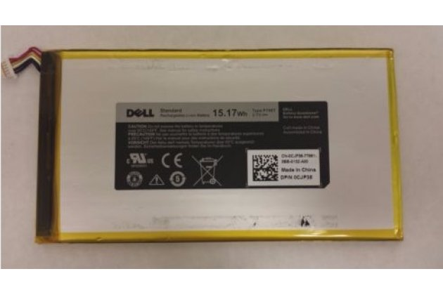 Фирменная аккумуляторная батарея  4100mAh P706T на планшет Dell Venue 8 android + инструменты для вскрытия + гарантия