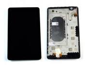 Фирменный LCD-ЖК-сенсорный дисплей-экран-стекло с тачскрином на планшет Dell Venue 8 android черный и инструме..