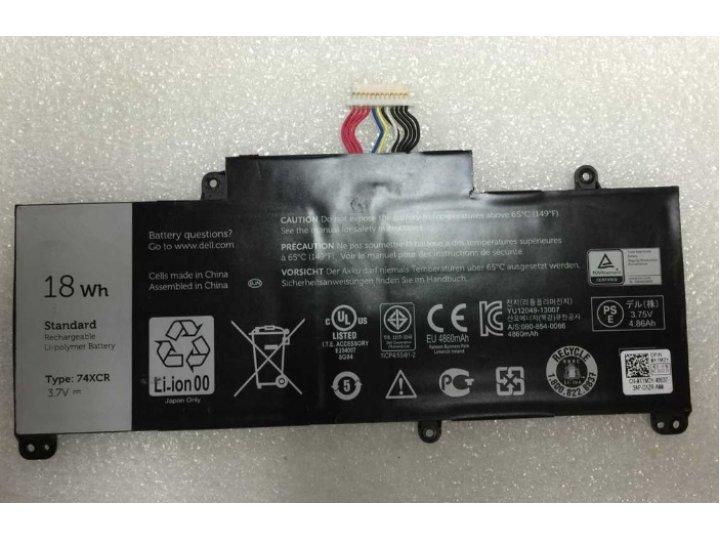 Фирменная аккумуляторная батарея  4860mAh 74XCR на планшет Dell Venue 8 Pro + инструменты для вскрытия + гаран..