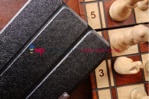 """Фирменный умный чехол самый тонкий в мире для Dell Venue 8 Pro 5830/8 Pro 5000/8 Pro 3000 """"Il Sottile черный пластиковый"""