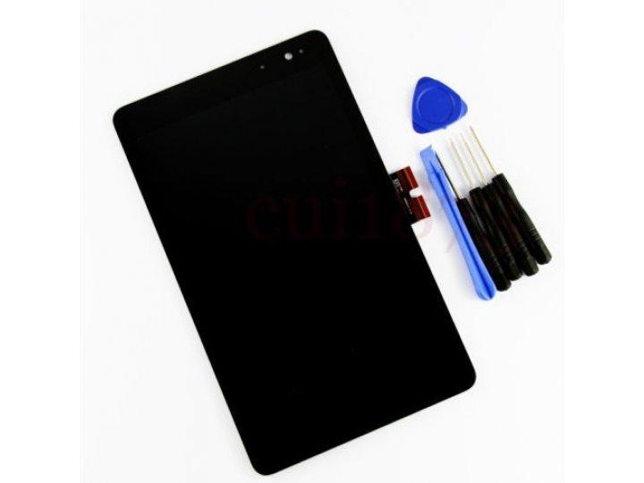 Фирменный LCD-ЖК-сенсорный дисплей-экран-стекло с тачскрином на планшет Dell Venue 8 Pro черный и инструменты ..