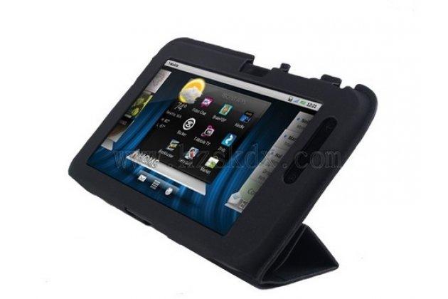 Чехол-книжка для планшета Dell Streak 7 черный кожаный