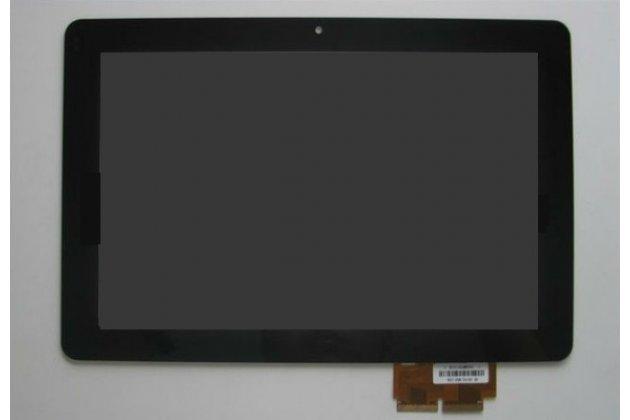 Фирменный LCD-ЖК-сенсорный дисплей-экран-стекло с тачскрином на планшет Dell Streak 7 черный и инструменты для вскрытия + гарантия