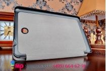 """Фирменный умный чехол самый тонкий в мире для планшета Dell Venue 8 Android (3830-8106)  """"Il Sottile"""" черный пластиковый"""