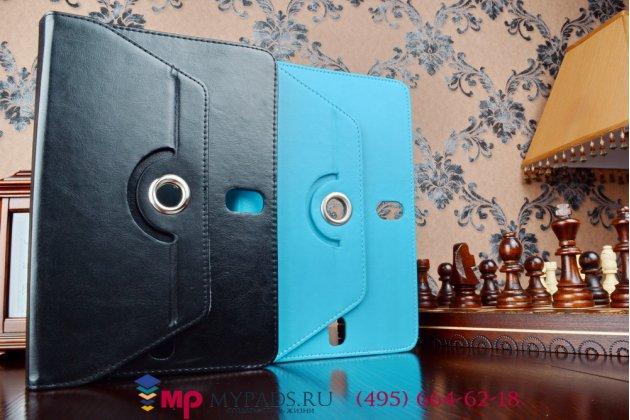 Чехол с вырезом под камеру для планшета Digma IDsQ10 3G роторный оборотный поворотный. цвет в ассортименте