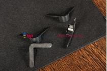Чехол-обложка для Digma iDrQ10 черный кожаный