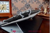 Чехол с вырезом под камеру для планшета EXEQ P-740 роторный оборотный поворотный. цвет в ассортименте