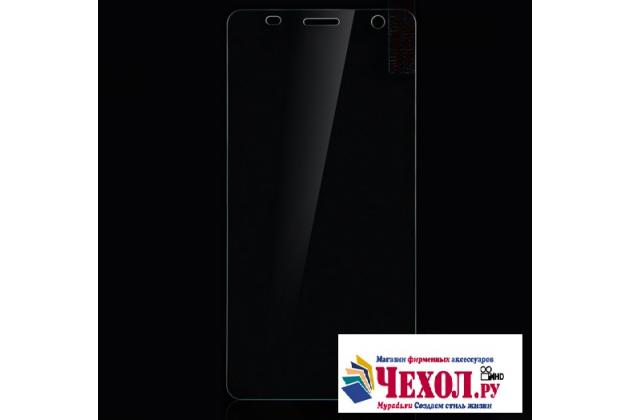 Фирменное защитное закалённое противоударное стекло премиум-класса из качественного японского материала с олеофобным покрытием для телефона Elephone S2