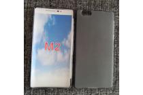 """Фирменная ультра-тонкая полимерная из мягкого качественного силикона задняя панель-чехол-накладка для Elephone M2"""" черная"""