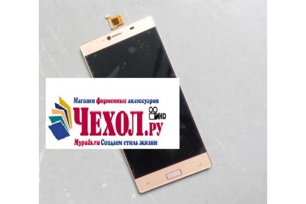 Фирменный LCD-ЖК-сенсорный дисплей-экран-стекло с тачскрином на телефон Elephone M2 золотой