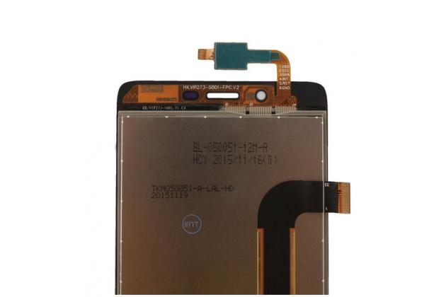 Фирменный LCD-ЖК-сенсорный дисплей-экран-стекло с тачскрином на телефон Elephone P6000 Pro черный