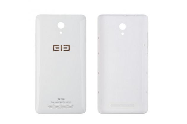 Родная оригинальная задняя крышка-панель которая шла в комплекте для Elephone P6000 Pro белая