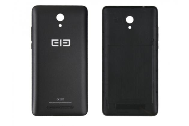 Родная оригинальная задняя крышка-панель которая шла в комплекте для Elephone P6000 Pro черная