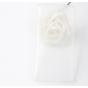 Фирменная задняя панель-крышка-накладка из тончайшего и прочного пластика для Elephone S3 белая..