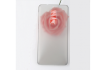 Фирменная задняя панель-крышка-накладка из тончайшего и прочного пластика для Elephone S3 серая