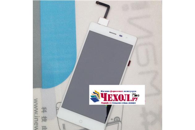 Фирменный LCD-ЖК-сенсорный дисплей-экран-стекло с тачскрином на телефон Elephone Trunk белый