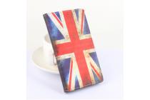 """Фирменный уникальный необычный чехол-книжка для Elephone Vowney """"тематика Британский флаг"""""""