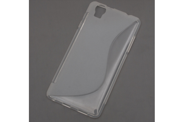 """Фирменная ультра-тонкая полимерная из мягкого качественного силикона задняя панель-чехол-накладка для Elephone G7"""" белая"""