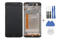 Фирменный LCD-ЖК-сенсорный дисплей-экран-стекло с тачскрином на телефон Elephone G7 черный + гарантия