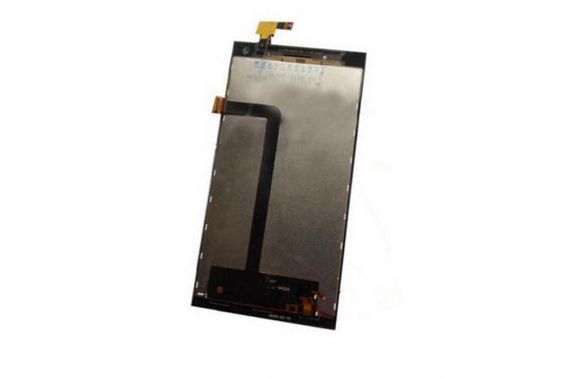 Фирменный LCD-ЖК-сенсорный дисплей-экран-стекло с тачскрином на телефон Elephone P2000c черный + гарантия