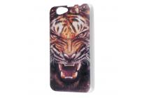 """Фирменная роскошная задняя панель-чехол-накладка с безумно красивым рисунком тигра на Elephone P5000"""""""