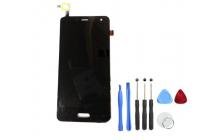 Фирменный LCD-ЖК-сенсорный дисплей-экран-стекло с тачскрином на телефон Elephone P5000 черный и инструменты для вскрытия + гарантия