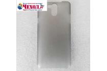 """Фирменная ультра-тонкая полимерная из мягкого качественного силикона задняя панель-чехол-накладка для Elephone P7000"""" серая"""
