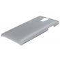 Фирменная задняя панель-крышка-накладка из тончайшего и прочного пластика для Elephone P7000 серая..