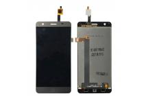 Фирменный LCD-ЖК-сенсорный дисплей-экран-стекло с тачскрином на телефон Elephone P7000 серый + гарантия
