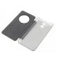 Фирменный оригинальный с логотипом умный чехол-кейс Smart Cover для Elephone P7000 с умным окном черный