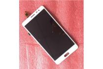 Фирменный LCD-ЖК-сенсорный дисплей-экран-стекло с тачскрином на телефон Elephone P8 pro белый