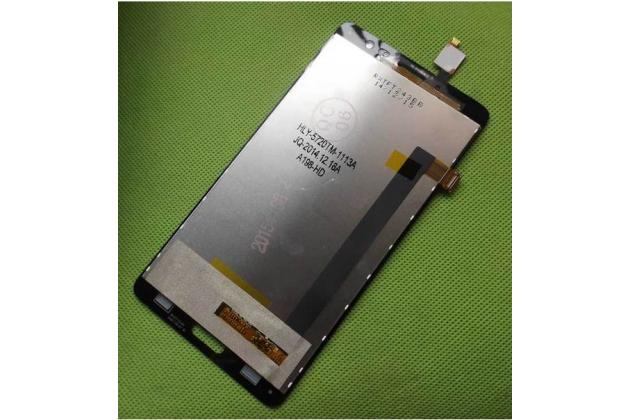 Фирменный LCD-ЖК-сенсорный дисплей-экран-стекло с тачскрином на телефон Elephone P8 pro черный