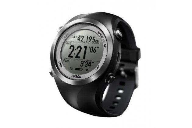 Фирменная оригинальная защитная пленка для умных смарт-часов Epson Runsense SF-710S глянцевая