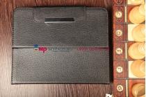 Чехол-обложка для Evromedia EvroPad 002 кожаный цвет в ассортименте