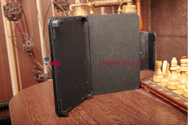 Чехол-обложка для Evromedia PlayPad Quad Fire (M-8) кожаный цвет в ассортименте