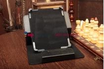 Чехол-обложка для Evromedia Playpad 3G DUO XL кожаный цвет в ассортименте