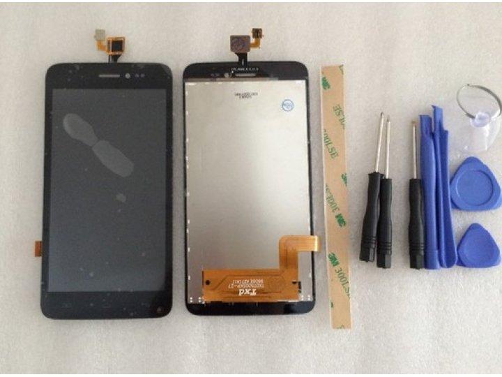 Фирменный LCD-ЖК-сенсорный дисплей-экран-стекло с тачскрином на телефон Explay Rio / Explay Rio Play черный + ..
