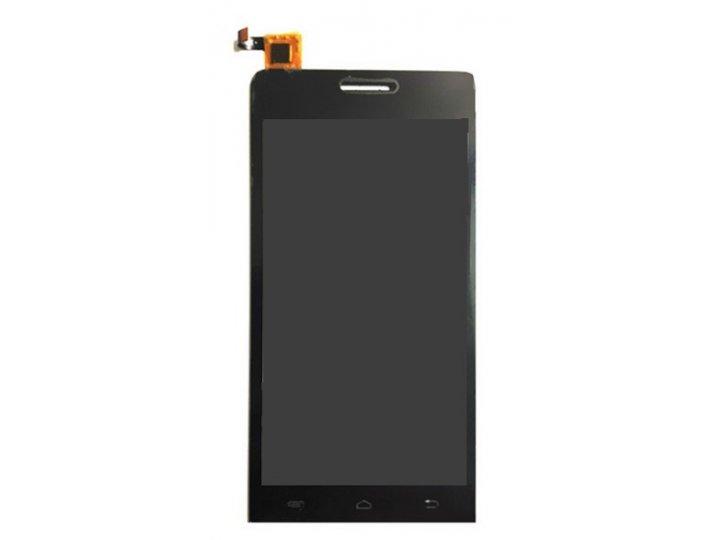 Фирменный LCD-ЖК-сенсорный дисплей-экран-стекло с тачскрином на телефон Explay Tornado 4.5