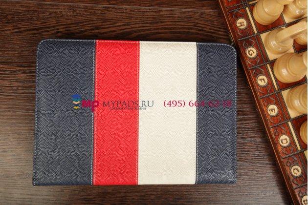 """Чехол-обложка для Explay sQuad 10.01 синий кожаный """"Deluxe"""""""