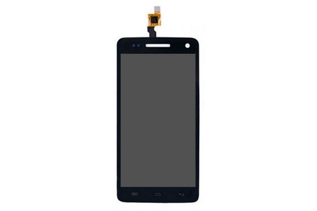 Фирменный LCD-ЖК-сенсорный дисплей-экран-стекло с тачскрином на телефон Explay Fresh черный + гарантия