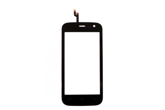 """Фирменный тачскрин на телефон EXPLAY Golf 4.5"""" черный + инструменты для вскрытия + гарантия"""