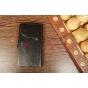Чехол-книжка для Explay Polo черный кожаный