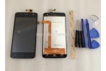 Фирменный LCD-ЖК-сенсорный дисплей-экран-стекло с тачскрином на телефон Explay Vega черный + гарантия